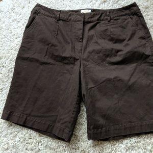 Dark brown Talbot's shorts
